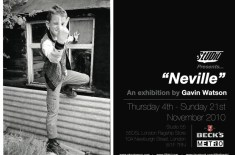 Studio55 Presents 'Neville' By Gavin Watson