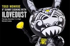 Kidrobot Togo Monroe Signing