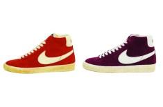 Nike Blazer High Vintage QS (Spice & Burgundy)