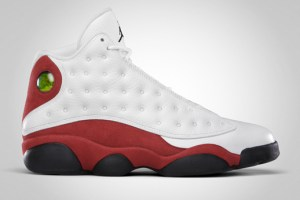 Air Jordan XIII Retro (White/True Red/Black)