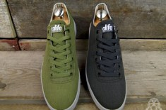 Alife Everybody Mono Low Canvas (Moss & Navy)
