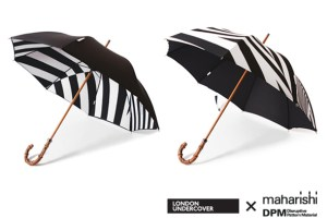 London Undercover x Maharishi DPM umbrellas