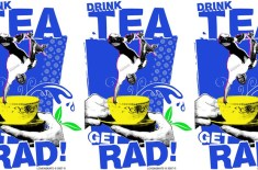 Lovenskate 'Drink Tea, Get Rad' T-shirt