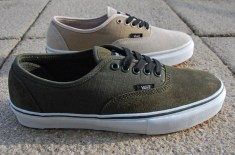 Carhartt x Vans Authentic (Moss & Light Stone)