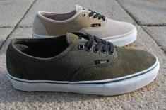 Carhartt x Vans Authentic (Moss & Light Stone)