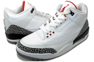 Air Jordan III Retro (White/Cement/Fire Red)