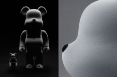Alife 400% and 100% Flocked Bearbrick