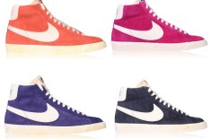 Nike Blazer Vintage QS (Crimson, Voltage Cherry, Ink & Grid Iron)