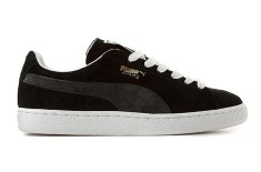 Puma Suede (Black/Grey)
