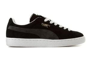 Puma Suede (Black/Grey)