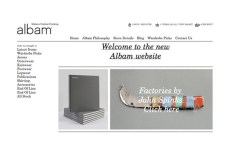 New albam website (sneak peek)