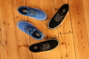 Vans Era 59 'World Track' (Black & Classic Blue)