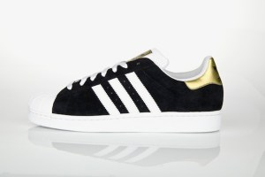 adidas Originals Superstar II (Black/White/Gold)