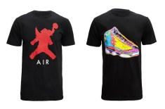 Air Jordan Elephant Icon & Retro Technicolour T-Shirts