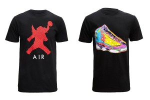 Air Jordan Elephant Icon & Retro Technicolour T-Shirts