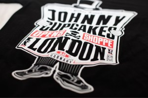 Debut: Johnny Cupcakes London Exclusive T-shirt