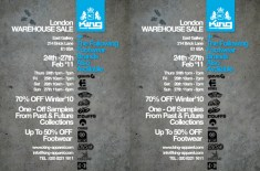 King Apparel London Warehouse Sale
