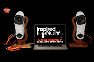Nike Air Force 1 sneaker speakers by Nash Money