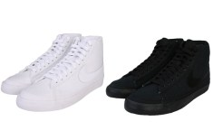 Nike Blazer Mid '09 (White/White & Black/Black)