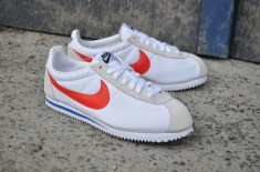 Nike Cortez Nylon (White/Red/Blue)