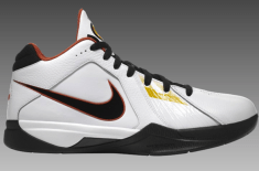 "Nike Zoom KD III (White/Orange ""Home"" & Black/Black)"