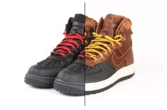 Nike Air Force 1 Duck Boot QS (British Tan & Black/Black)
