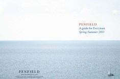 Penfield 'A guide for Everyman' SS11 lookbook