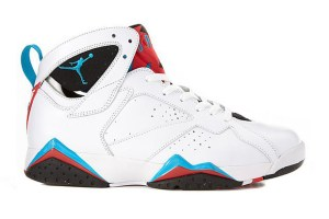 Air Jordan VII (White/Orion Blue)