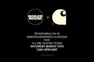 Boiler Room x Carhartt
