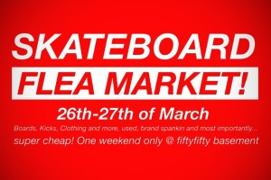 Fifty Fifty Skateboard Flea Market