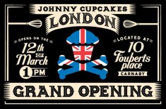 Johnny Cupcakes London Grand Opening