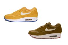 Nike Air Max 1 (Honeycomb/Blue Spark & Brown Kelp/White)