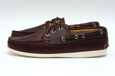 Quoddy Boat Shoe (Burgundy Chromexcel)