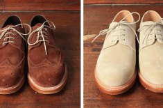 albam x Grenson SS11 footwear