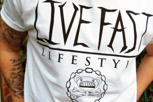 Bogus 'Live Fast' T-Shirt