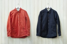 Percival Cotton Twill Outer Shirt
