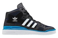 Adidas Forum Mid 'Crazy Light' (Black/Cyan)