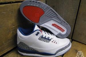 Air Jordan III 'True Blue' 2011 Retro