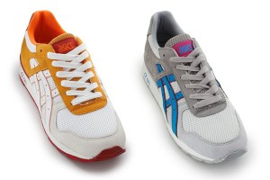 asics GT II (Orange/White & Grey/Blue)