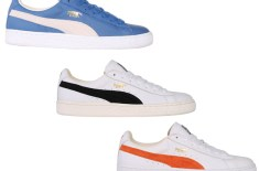 Puma Basket (Cobalt/White, White/Black & White/Orange)