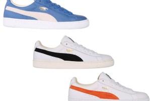 Puma Basket (Cobalt/White, White/Black & White/Orange)