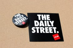 New The Daily Street stickers & pin badges
