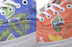 Vans Vault Era Aloha LX (Blue & Orange)