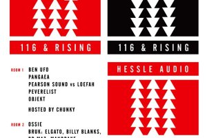 """Hessle Audio """"116 & Rising"""" launch party"""