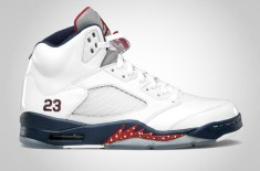 Air Jordan V Retro (White/Midnight Navy)
