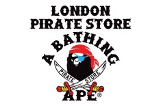 Bape London Pirate Store Returns