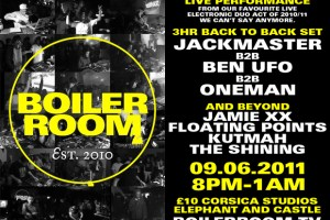 Boiler Room 1st Birthday Party