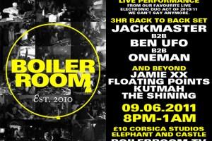 Boiler Room 1st Birthday Party