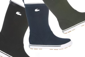 Lacoste welly collection