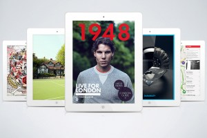 Debut: Nike launches 1948 iPad App